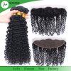Rohes Jungfrau-brasilianisches Haar-Wholesale tiefes Wellen-Haar frontales 13X4
