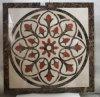 Patrones redondos del piso del mármol del medallón del mosaico del azulejo de suelo de Hzx
