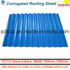 Stahlplatten-gewölbtes Stahlblech-gewölbte Dach-Blatt