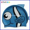Brand personnalisé Logo Kids Silicone Swim Caps et Diving Glasses