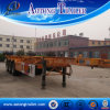 Radachse 2/3 40ft Flatbed Trailer mit Container Lock