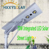 Alta luz de calle integrada solar brillante del LED 70W