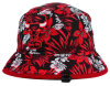Flower colorido Style Design Bucket Hat com Embroidery Logo