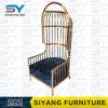 Cadeira do lazer do aço inoxidável do rei Trono Cadeira da mobília do hotel