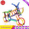 Het plastic Slimme Intelligente Stuk speelgoed van de Bouwstenen van Stokken