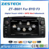 Lecteur DVD de véhicule de la crispation 6.0 2 DIN pour le F-3 de Byd avec l'acoustique par radio de GPS