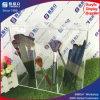Support de balai acrylique de renivellement avec 3 compartiments
