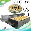 금속 장 또는 도기 타일 또는 유리제 UV 평상형 트레일러 인쇄 기계