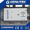 Супер молчком 60Hz 15 kVA генератор дизеля 3 участков