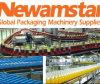 De Transportband van Newamstar voor Gevulde Fles