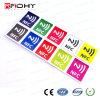 Etiqueta Ilimitada de las Opciones MIFARE NFC del Color para los Media Sociales