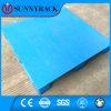 Pálete plástica logística do HDPE de uma superfície plana