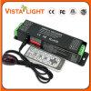 Décodeur de contrôleur du signal d'entrée de la transmission à sens unique DMX512 RVB DEL