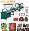 Estera de goma inferior de Pric de la fábrica de China que hace la cadena de producción de máquina