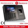De biometrische Prijs van de Machine van de Opkomst van de Tijd van de Vingerafdruk met Software en Batterij