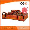 Aufblasbarer orange Hindernis-Kurs für Vergnügungspark T6-205