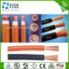 Медный PVC проводника или изолированный резиной кабель сварочного аппарата 70mm2