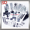 Piezas que trabajan a máquina de torneado modificadas para requisitos particulares del torno del CNC