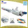 Linha de produção plástica da extrusora da tubulação da costa dupla da Água-Drenagem de PVC/UPVC