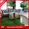 Plantas artificiais da decoração sintética do gramado para interno