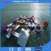 O esporte inflável do Aqua dos jogos do parque da água brinca a câmara de ar do jogo da água