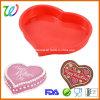 Grand moule à gâteaux de coeur de silicones classiques