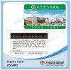 Tarjeta plástica del VIP de la tarjeta del PVC de la tarjeta de la tarjeta de papel