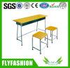 Quality 높은 교실 Furniture Double Desk와 Chair (SF-28D)