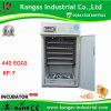 Incubateur automatique d'oeuf 400 de caille d'oeufs (KP-7)