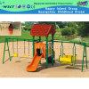Сочетание слайдов и качели небольшая площадка для Kid (HC-13806)