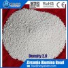 Zr O2 10% Zirconia Alumina Composite Beads Grinding media for calcium Carbonate