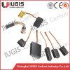 A escova de carbono para o cobre do uso do motor elétrico contem