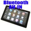 Navegación + Bluetooth del GPS del coche de 5 pulgadas + Sistema de pesos-en +FM +MP3 memoria MP4 + 4GB