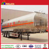 3 Radachse Aluminum 45m3 Fuel Tank Semi Trailer