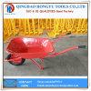 Wheelbarrow resistente da bandeja do metal da venda quente 65L/5FT