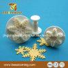 Плунжер Fondant цветка снежка украшая резец 4 частей