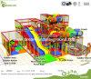 O anúncio publicitário da prova das atrações de ASTM F1487 caçoa o campo de jogos interno