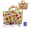 Totalizador colorido de la manera de EVA de 2014 puntos populares, bolso de compras del estilista