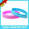 Wristband dei braccialetti del silicone di Web site di Custom Company (TH-band011)