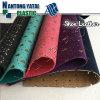 Retro cuoio di pattino di cuoio impresso di disegno di modo di alta qualità del PVC di elasticità