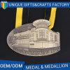 Regalo unico del ricordo del museo della medaglia della Camera della costruzione di disegno 3D