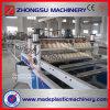 PVC PMMA 3 слоя настилая крышу линия прессуя машины листа