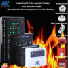Zona Indoor Fire Alarm Panels do OEM 24VDC 4