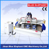 Preiswerte gute Qualitäts-CNC-hölzerne Maschinerie des Preis-Ele2015 für das Holz, das mit gesetzter Dreheinheit 4 schnitzt
