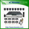1/3 CCTV Kit (BE-9608H8ID42) de Sony 420tvl 8CH Standalone DVR