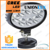 24W oval LED Work Lamp Auto LED Work Light para Trucks