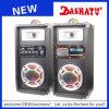 2.0 Rectángulo estéreo activo Xd5-0006 del altavoz de la potencia mini