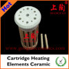 Elementos de calefacción del cartucho de cerámica
