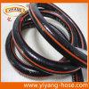 Noir avec le jardin Hose de PVC de 4 Symbol Lines