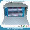 Marco de distribución de fibra óptica montado estante (ODF-96)